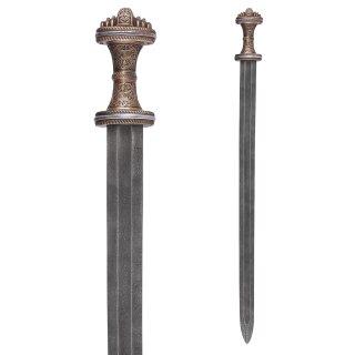 Angelsächsisches Fetter Lane Schwert, 8. Jh., Damaststahl