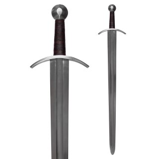 Mittelalterliches Kreuzritterschwert mit Scheide, Schaukampf SK-B