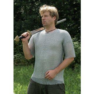 Kettenhemd, kurzarm, verzinkt