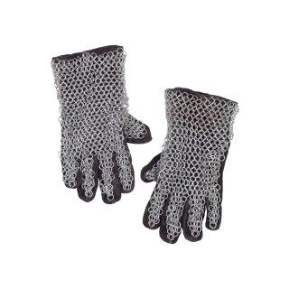 Fingerhandschuhe mit Kettengeflecht, ID9mm, verzinkt