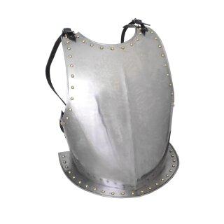 Mittelalterlicher Brustpanzer aus Stahl