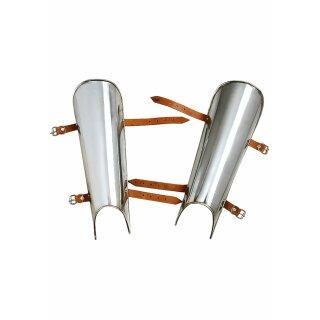Beinschienen, Paar, 2mm Stahl