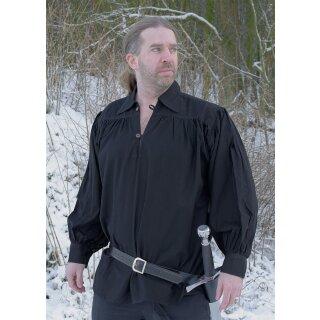 Ritterhemd, schwarz, Gr. S