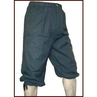 Kniebundhose zum Schnüren, schwarz, Gr. XL