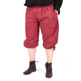 Kniebundhose zum Schnüren, rot, Gr. XXXL