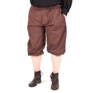 Kniebundhose zum Schnüren, dunkelbraun, Gr. M