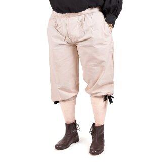 Kniebundhose zum Schnüren, naturfarben, Gr. S