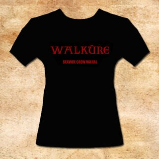 Girlie-Shirt Valkyre - Service Crew Valhal