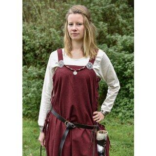 Wikingerkleid / Überkleid Edda - rot, Gr. S/M