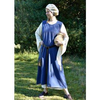 Mittelalterkleid Überkleid Milla -  blau, Gr. XL