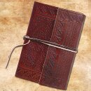 Leather Diary, medieval design