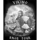 Longsleeve-Shirt: Viking Rage Tour, Gr. M