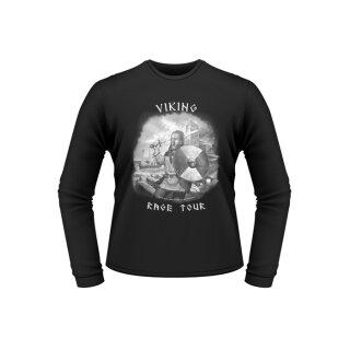 Longsleeve-Shirt: Viking Rage Tour, Gr. XXL