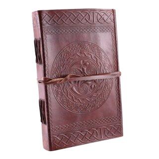 Leather Diary, celtic symbol