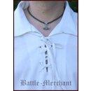 Spätmittelalter-Hemd aus Baumwolle, natur, Gr. M