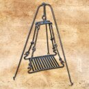Grill Grate for Tripod, hand-forged