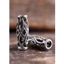 Wikinger Schmuckperle und Lockenperle aus Silber