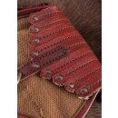 Tasche im Wikinger-Stil, Leder und Segeltuch