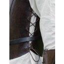 Lederrüstung / Brustpanzer mit Frontschnürung