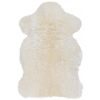 Lammfell, naturweiß, ca. 90 cm
