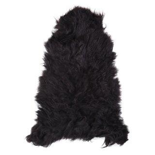 Nordlandschnuckenfell, schwarz, ca. 110 cm