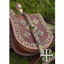 Birka Tasche, Wikinger-Gürteltasche aus Leder