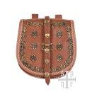 Tarsoly Tasche, Wikinger-Gürteltasche aus Leder
