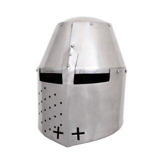 Grosser Helm Pembridge, ca. 1370, 1,2 mm Stahl
