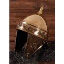 Keltischer Helm, gallischer Stil, 1,2 mm Messing