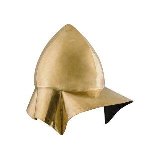 Böotischer Helm, Griechischer Helm aus Messing, 4. Jh. v. Chr.