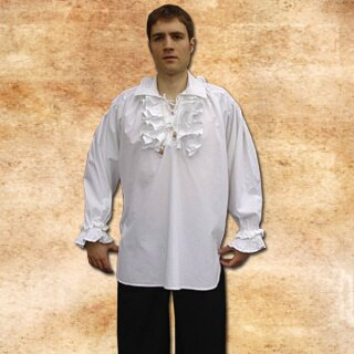Frills Shirt made from cotton