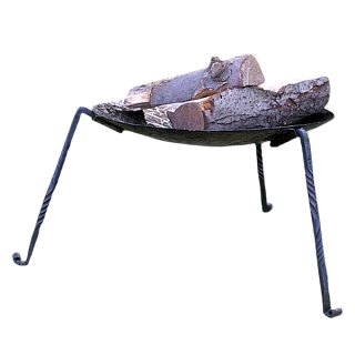 Fire-bowl with removable legs