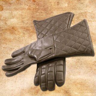 Light Practical Gloves, brown