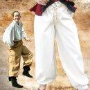 Bundhose aus Baumwolle, hinten Gummizug und Schnürung im...