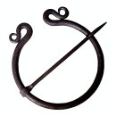Ring Brooch, hand-forged