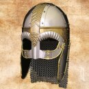Spectacle Helm Beowulf, cheek-pieces, chain mail aventail