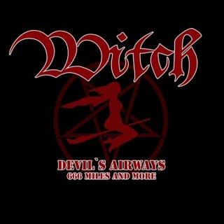 Girlie-Shirt Witch - Devils Airways