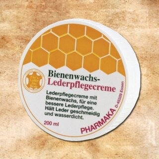 Beeswax Leather Care 200 ml