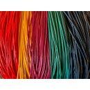 Lederband rund 2 mm, diverse Farben