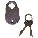 Small Padlock with two keys