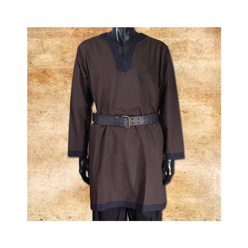 new product 1fec6 c4783 Tunika langarm, braun-schwarz