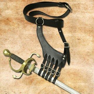 Gürtel mit Schwerthalterung, Bandelier