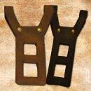 Belt Holder, straight, Black (LARP)