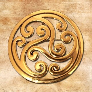Brooch and Pendant Triskelion 37