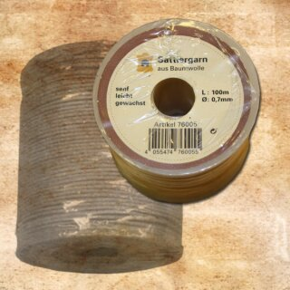 Saddler thread, mustard (0,7)
