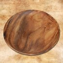Acacia Wooden Plate, 20 cm