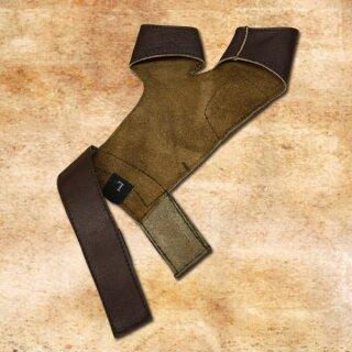 Bogenhandschuh Y-Form, schwarz