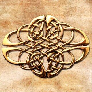 Brosche Keltischer Knoten 36, groß