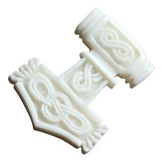 Bone Pendant Thors Hammer 56