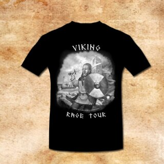 T-Shirt Viking Rage Tour - M